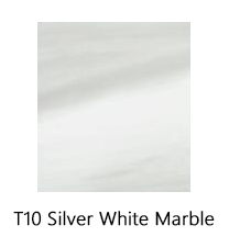 Silver White Marble